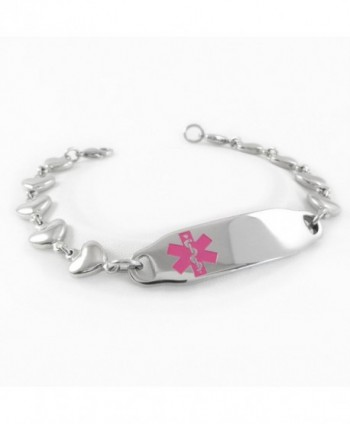MyIDDr Medical Bracelet HEART Incld