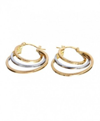 Followmoon Gold Plated Womens Earrings
