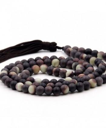 Tibetan Buddhist Prayer Meditation Rosary in Women's Strand Necklaces