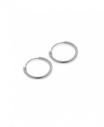 Hoops Loops Sterling Endless Earrings