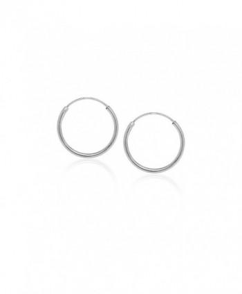 Hoops Loops Sterling Endless Earrings in Women's Hoop Earrings