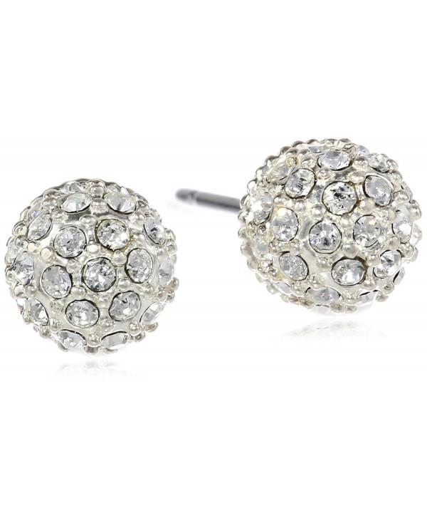 "Judith Jack ""Mini Items"" Sterling Silver- Crystal Stud Earrings - CH11DBQPEKN"