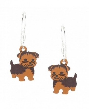 Sienna Sky Yorkshire Terrier Yorkie Dog Earrings 1137 - CQ182AS0T3C