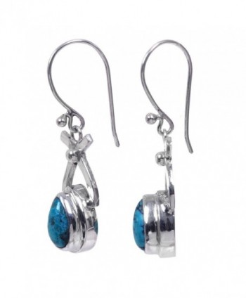 NOVICA Turquoise Sterling earrings Temptations