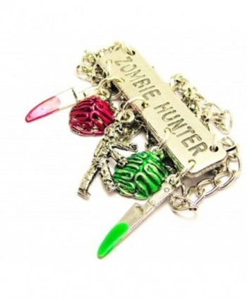 ChubbyChicoCharms Zombies Platform Statement Necklace