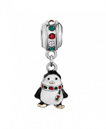 LovelyJewelry Penguin colorful crystal Bracelet in Women's Charms & Charm Bracelets