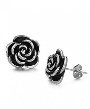 Dreamslink Elegant 316l Titanium Stainless Steel Gold Earring Jewelry - CH1108AGMVJ