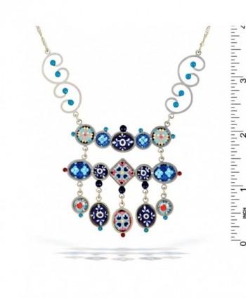 Artazia Magic Carpet Necklace Cobalt in Women's Chain Necklaces