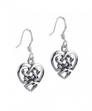 Union Celtic Sterling Silver Earrings