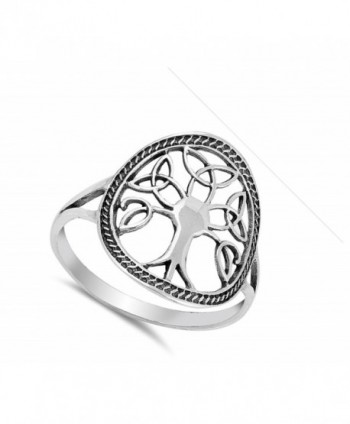 Oxidized Celtic Filigree Sterling Silver
