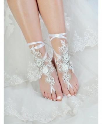 Barefoot Sandals Wedding Jewelry Sparkle
