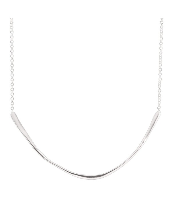 "Silpada 'Expressions' Sterling Silver Necklace- 17+2"" Extender - CC12N8A86HN"