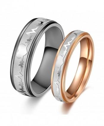 Amazing Titanium Stainless Anniversary engagement - C611DV9MXIV