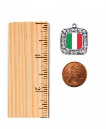 Italian Classic Silver Crystal Bracelet