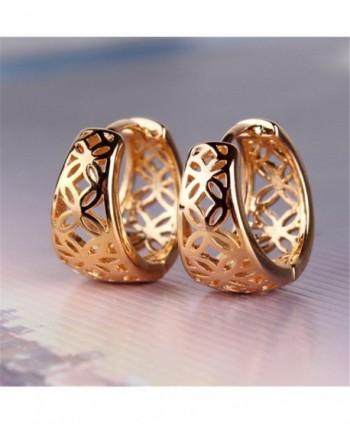 GULICX Stunning Simple Womens Earrings in Women's Hoop Earrings