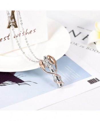 Memorial Cremation Necklace Stainless Keepsake in Women's Pendants