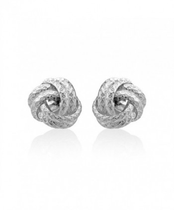 WithLoveSilver Sterling Silver Thick Earrings