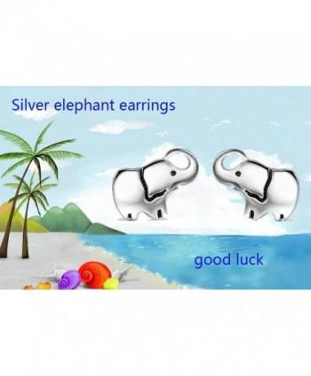 YFN Sterling Elephant Earrings elephant