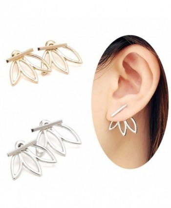 OREOLLE Earrings lightweight Jackets Fashionable - Gold+Silver - CL1857KQO7M