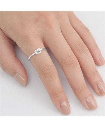 Infinity Knot Sterling Silver RNG14788 8