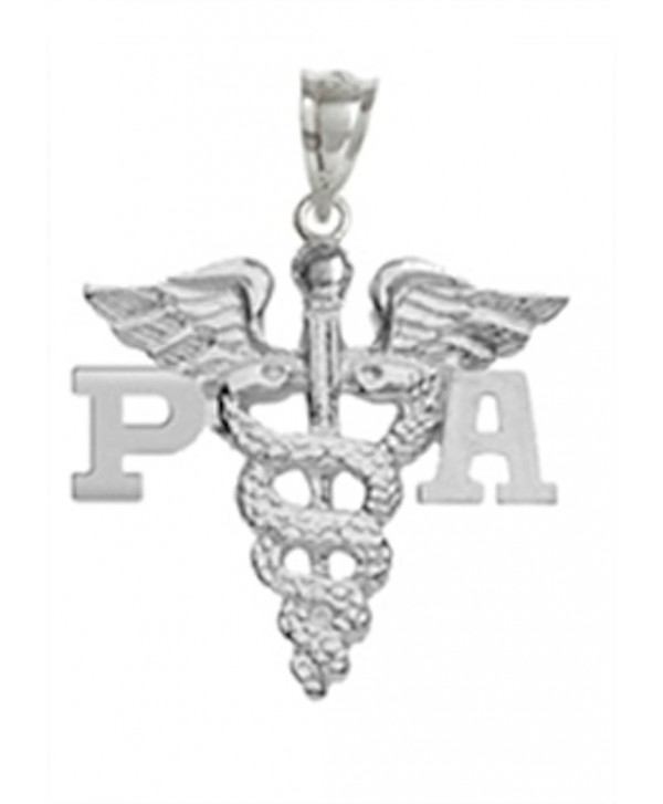 NursingPin - Physician Assistant PA Graduation Charm in Silver Jewelry & Gifts - CV1173YU0WB