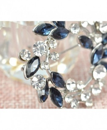 Gyn Joy Synthetic Sapphire Rhinestone in Women's Brooches & Pins