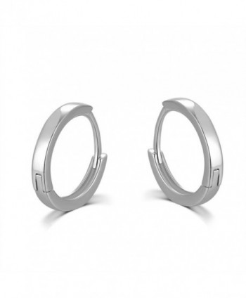 MBLife Sterling Polished Earrings Diameter