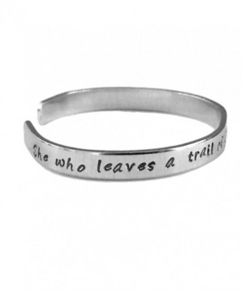 Forgotten Stacking Bracelets Aluminum Hand in Women's Cuff Bracelets