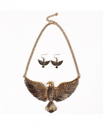 Winson Vintage Statement Necklace Earring