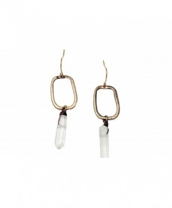 Bohemian Gold Drop Naja Earrings Crystal Women - CQ189Y7RCA8