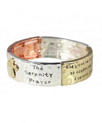 4031546 Serenity Prayer Bracelet Strength Courage Hope AA ALNON 12 Step God Grant Me - C211NA7YEET