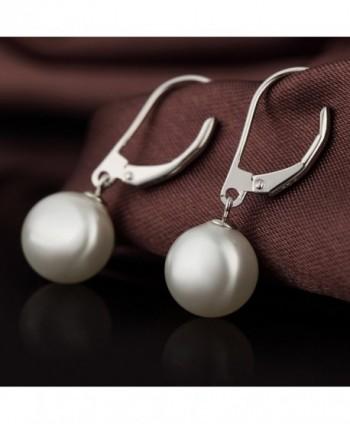 Dangle Earrings Sterling Hypoallergenic Imitation in Women's Drop & Dangle Earrings