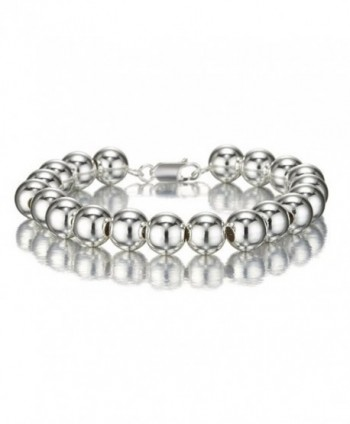 Designer Inspired POLISHED Sterling Bracelet - CQ119SAR3U9