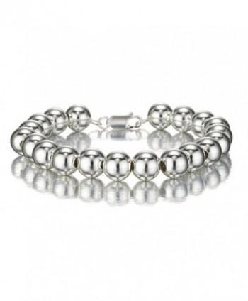 Designer Inspired POLISHED Sterling Bracelet - CQ119SAR3U9