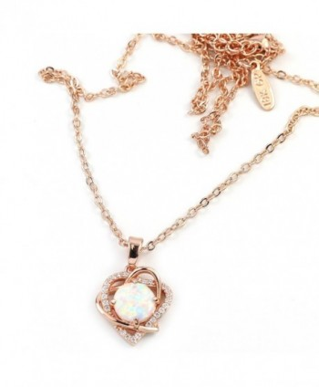 FC JORY Crystal Pendant Necklace in Women's Pendants