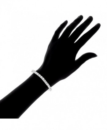 Lesa Michele Zirconia Bracelet Sterling