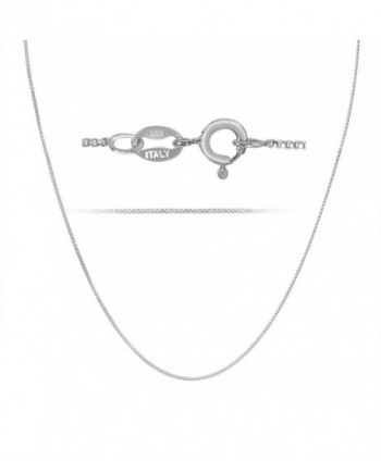 Rhodium Plated Sterling Silver Necklace - rhodium-plated-silver - CH11ZP3M1LZ
