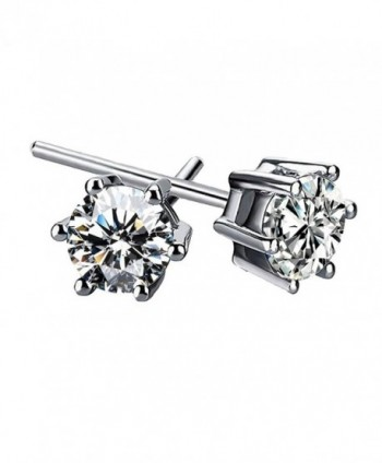Freedi Crystal Diamonds Stud Earrings Rhinestone Hypoallergenic Fashion Women Jewelry - CV17YENHCH5