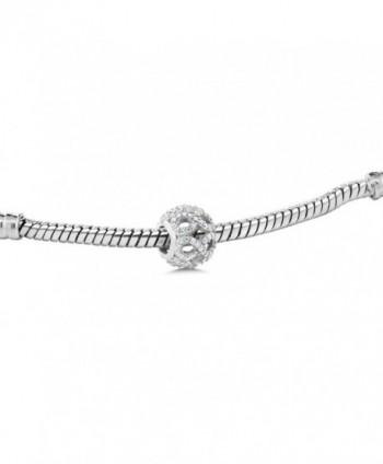 Sterling Infinity Bracelet Compatible Bracelets