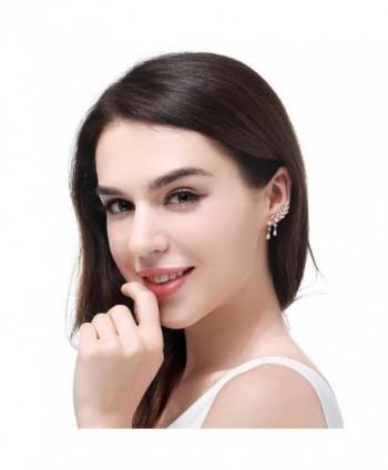 EVERU Jewelry Crystal Plated Earrings