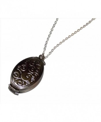 Four Fold Photo Locket Necklace - C1124005K6B