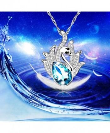 Pealrich Pendant Necklace Swarovski Elements