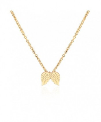 CYBERNY Message Golden Pendant Necklace