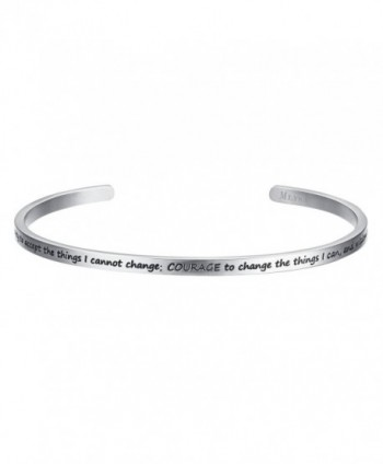 Shally Inspirational Gifts Jewelry for Women Cuff Bangle Gifts for Her- Sweetheart- Wife- Mom & Daughter - CL187ILD4QE
