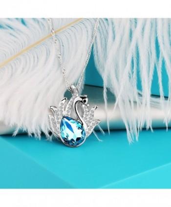 Pealrich Pendant Necklace Swarovski Elements in Women's Chain Necklaces