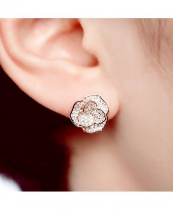 EVERU Fashion Jewelry Flower Earrings