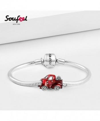 SOUFEEL Pickup Sterling European Bracelets in Women's Charms & Charm Bracelets