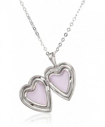Momento Lockets Sterling Silver Necklace