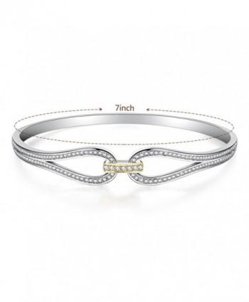 Angelady Infinity Bracelet Zirconia Jewelry