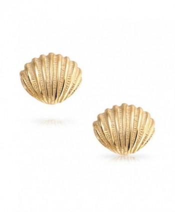 Bling Jewelry Nautical Seashell earrings in Women's Stud Earrings